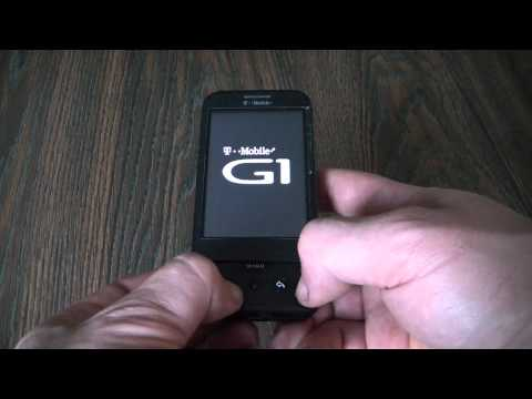 How To Hard Reset An HTC G1 Dream Smartphone