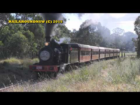 Rail Around New South Wales July 2015