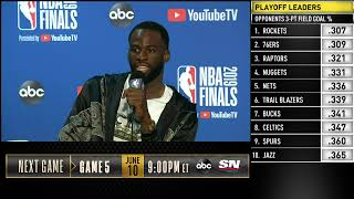 Draymond Green Press Conference | NBA Finals Game 4