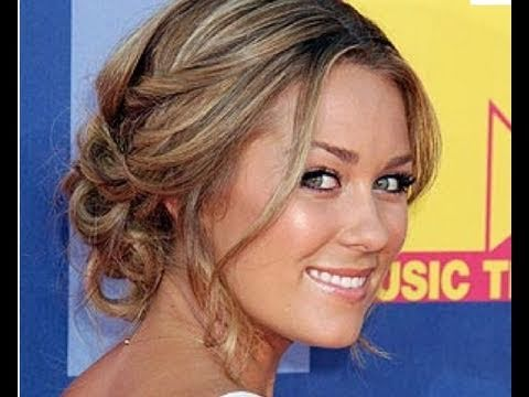 Elegant Updo Inspired By Lauren Conrad
