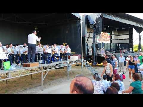 Banda Musical da Torre de Ervededo em Vilela Seca. (Xutos Mellody)