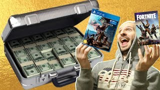 TOP 10 GAMES MORE BRIEFCASES HAVE PAID! -Sasel - press - fortnite - sony