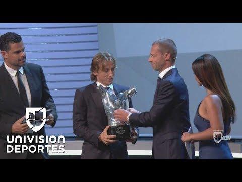 Luka Modric, Mejor Jugador de la Temporada en la UEFA 2017/18