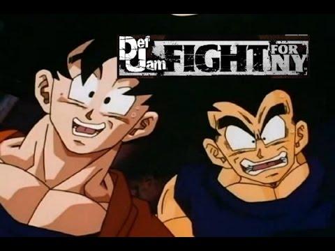 Def Jam Fight For New York | Goku Vs Vegeta Spectacular (Slow & Fast Mo 60FPS 1080P)