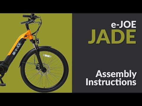 How to assemble e-JOE JADE Comfort Cruiser / Unboxing