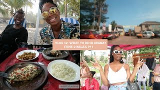 VLOG 12 - WHAT TO DO IN GHANA?? ( TIME TO RELAX?!)