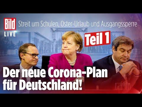 🔴CORONA-GIPFEL: Ausgangssperre für Millionen Deutsche? | BILD Live Spezial Teil 1