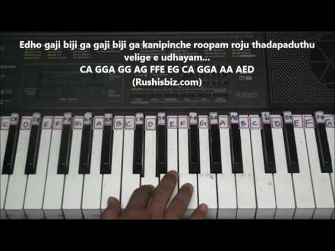 Enduko Emo - Rangam - Piano Tutorials