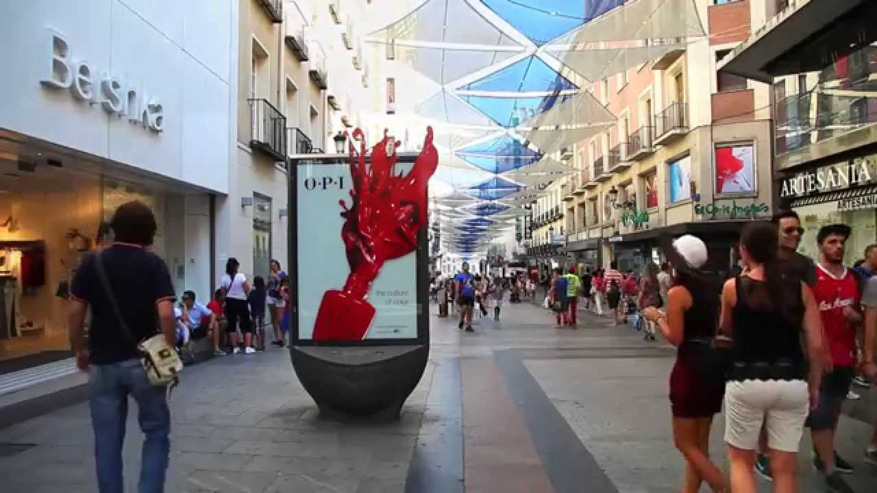 Jcdecaux Spain Innovate For Coty  Youtube