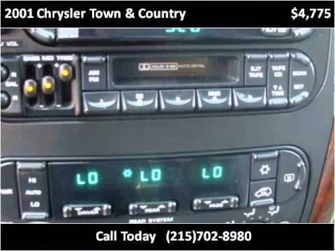 2001 Chrysler Town & Country Used Cars Penndel PA