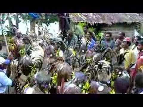 Custom Dancing, Nelo Dance, Solomon Islands