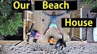 We Got A Beach House 😍 | Beach House Tour | Canada Couple Vlogs