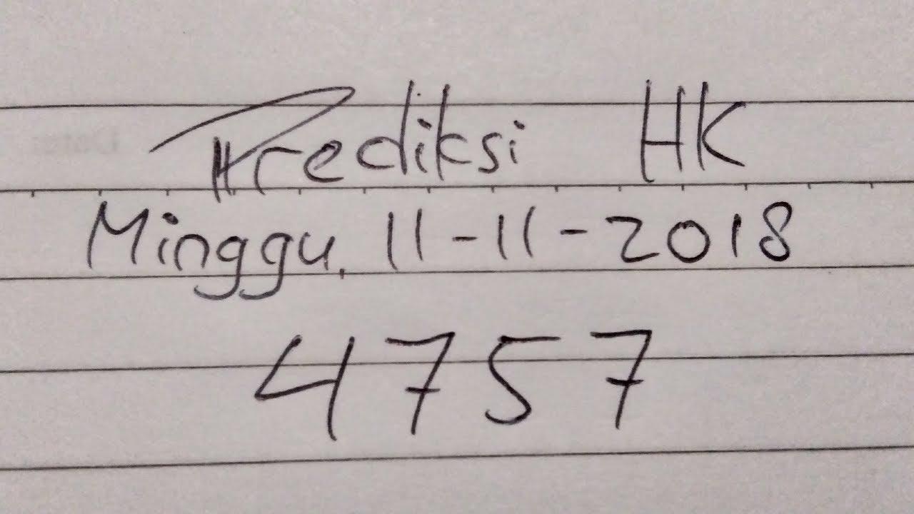 Prediksi Togel HK hari ini Minggu 11/11/2018 . JITU POOLS ...