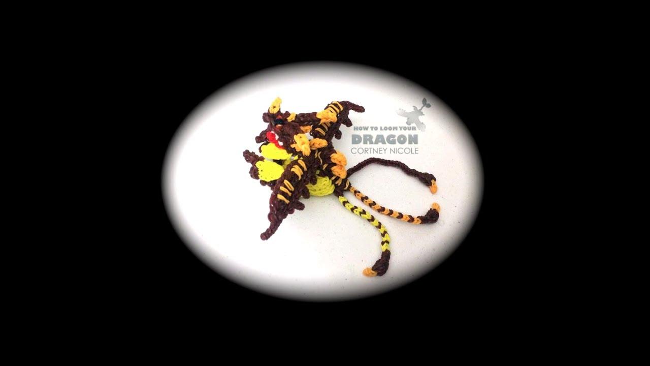 How To Loom Your Dragon Triple Stryke Baby 1 Loom Youtube