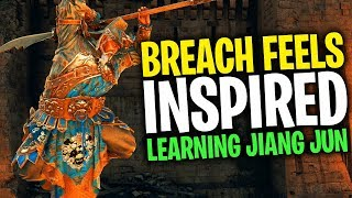 Breach Feels Inspired - For Honor Breach with Jiang Jun