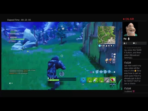 PLAYING FORTNITE Live