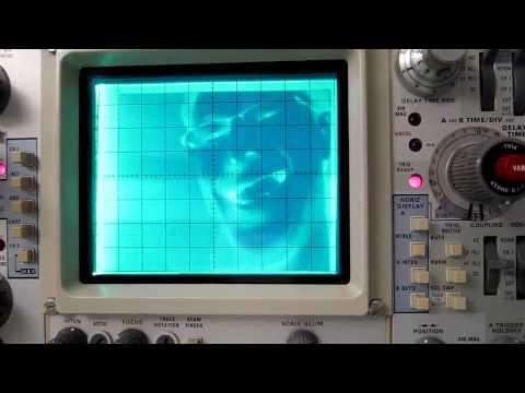Video on an Oscilloscope
