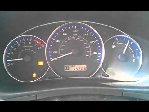 2011 Forester Check Engine Light On