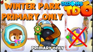 BTD6 - Winter Park - Primary only - easy (no knowledge)