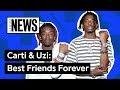 The History of Lil Uzi Vert & Playboi Carti's Friendship   Genius News
