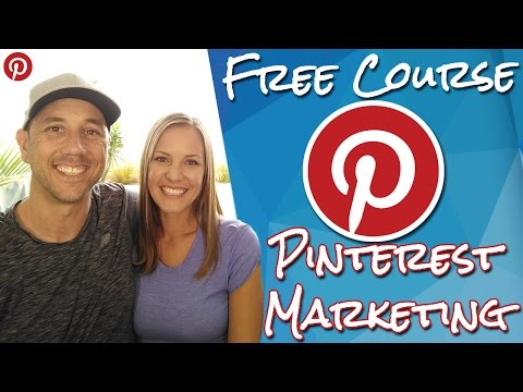 Free Pinterest Marketing Course For Your Online Business Without Paid Pinterest Ads.