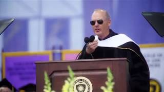 Michael Keaton Speaks at Kent State University's 2018 Commencement