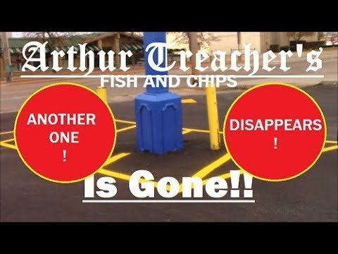 Arthur Treacher's disappears!
