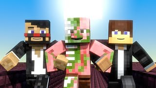 THE HAPPY NETHER (Minecraft Animation)