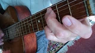 Варяг + Раскинулось море широко (на гитаре) +ТАБЫ