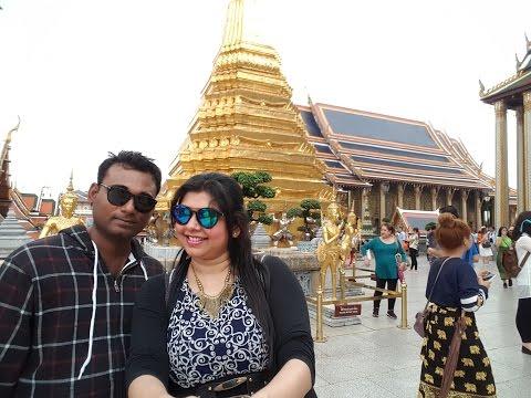 Bangkok (Thailand) - Grand Palace, Wat Phra kaew, Wat Pho and Wat Arun