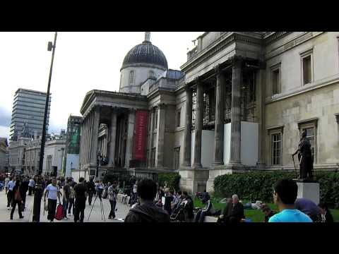 The National Gallery - Trafalgar Square - London