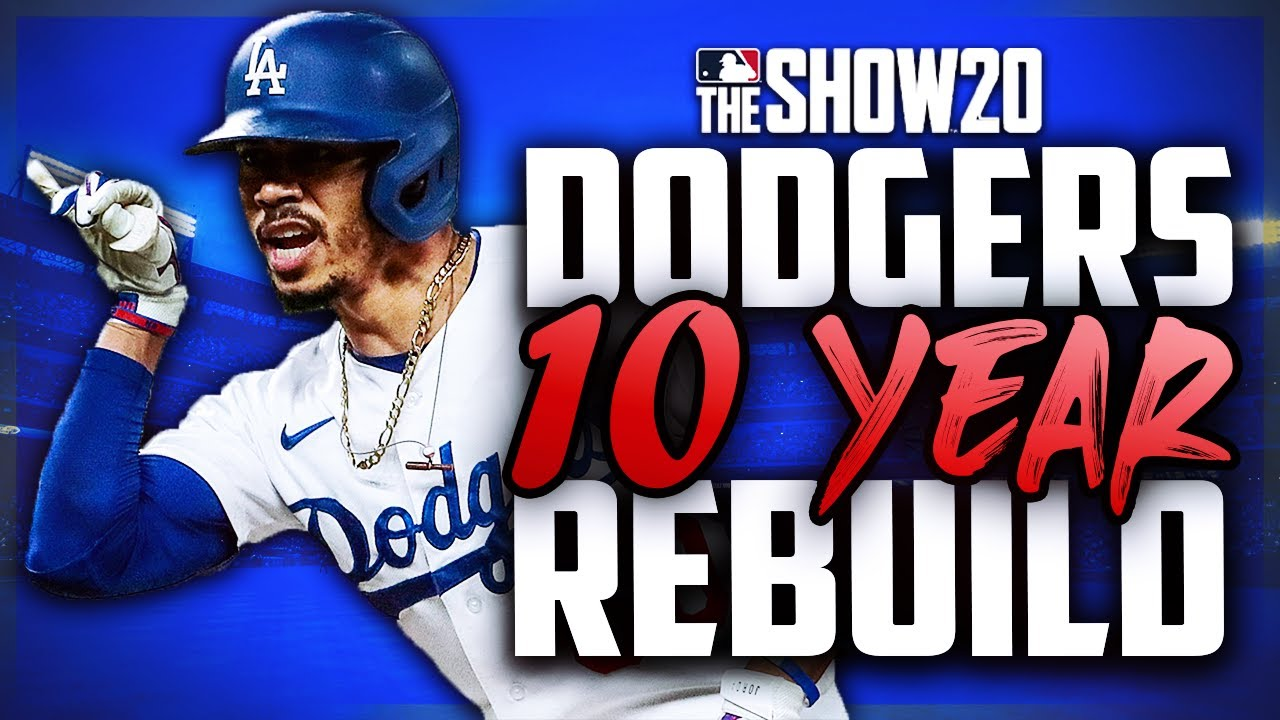 10 Year Rebuild of Los Angeles Dodgers | MLB the Show 20 Franchise