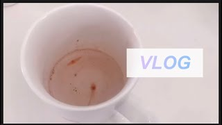 오늘은 Jizi Vlog 네스프레소