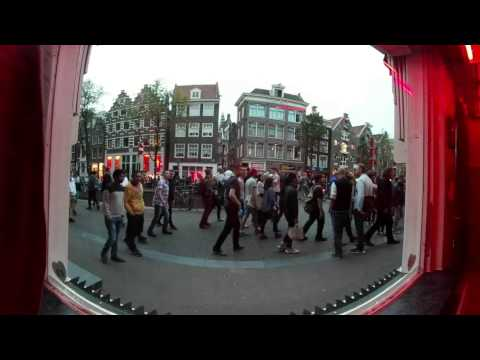 Behind the Window – A 360° experience of working in Amsterdam's Red Light District