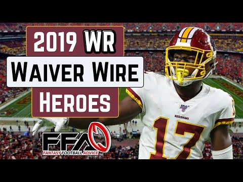 Waiver Wire Heroes   Wide Receivers   A Look Back at the 2019 Fantasy Football Season