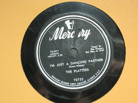 I'm Just a Dancing Partner - The Platters - Mercury Records 70753