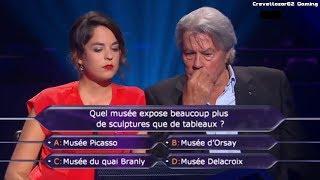 Qui Veut Gagner Des Millions - 13/07/2013 - Anouchka Delon et Alain Delon