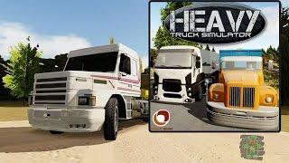 Heavy Truck Simulator - HD Android Gameplay - Bonus Truck Games - Full HD Video (1080p)