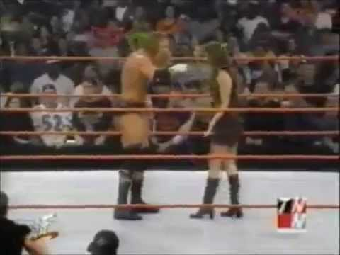Chris Benoit Retaliates To Stephanie Slapping Him thumbnail