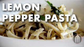 Lemon Pepper Pasta Product Spotlight Video