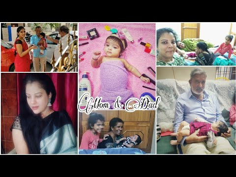 #mommy's-tho-mucchatlu-|-emotional-moments|-dad-meeting-lil-one-|-baby-photoshoot-|-madhuhsika-vlogs