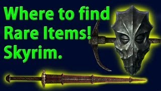 Where to get Bloodskal Blade, Zahkrisos's Mask and Ancient Nord Pickaxe!