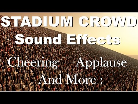 Stadium Crowd Sound Effects | One Hour | HQ