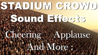 Stadium Crowd Sound Effects | One Hour | HQ Thumb