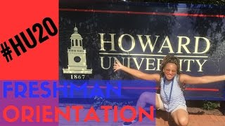 Howard University Freshman Summer Orientation #HU20