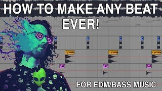 HOW TO MAKE ANY BEAT EVER!