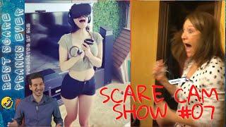BEST SCARE PRANKS EVER || SCARE CAM SHOW #07