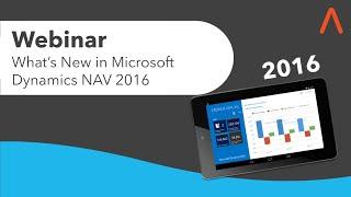 What s New in Microsoft Dynamics NAV 2016