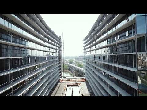 Aluprof systems at Sky View Parc