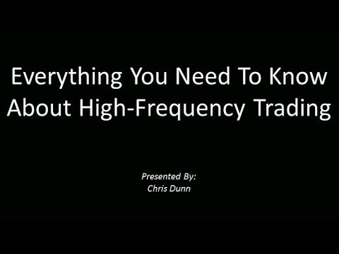 High Frequency Trading - Everything You Need To Know (Webinar Recording)